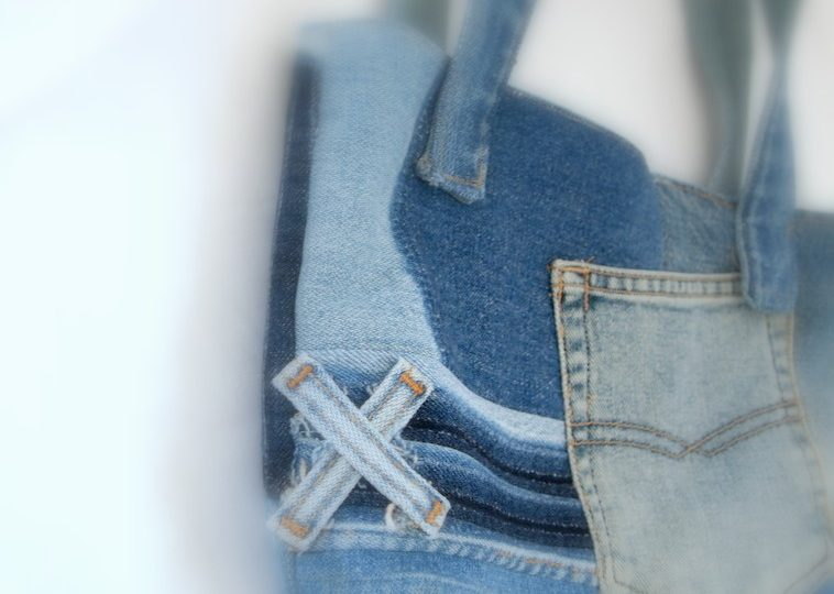 デニムデザインバッグ